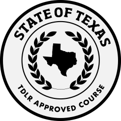 TDLR approved course